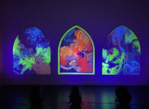 The Wick - Install image of Kate Dunn, The Tabernacle - Welcome to Pharmakon, June 2021