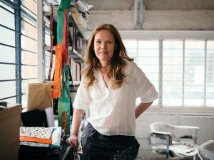 The Wick - Laura Gannon in the studio