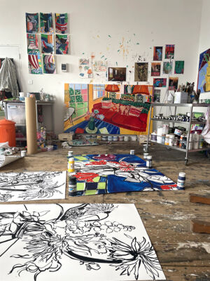 The Wick - Feature Painter and Printmaker Rose Electra Harris