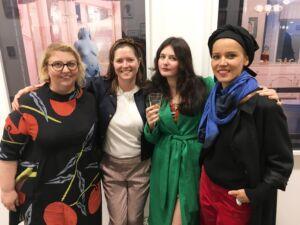 The Wick - TJ Boulting's booth, Unseen Art Fair 2018 Haley Morris Cafiero, Maisie Cousins and Benedicte Kurzen