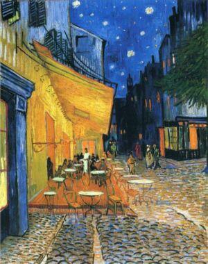 The Wick - Dream Vincent van Gogh, Café Terrace at Night, 1888
