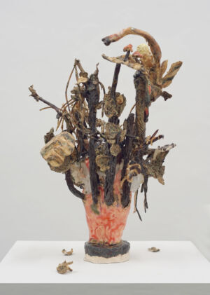 The Wick - Asana Fujikawa*, Ein Waldmensch: Das Ende der Phase der Metamorphose, 2016, Courtesy Asana Fujikawa & Galerie Friese Photo: Martin Meiser