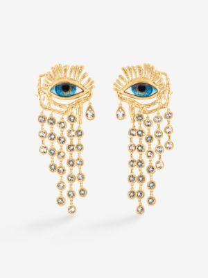The Wick - Schiaparelli Gaze Pendant Earrings