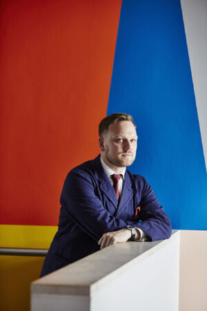 The Wick - Simon Martin - Artistic Director of The Pallant House Gallery photographed by Alun Callender