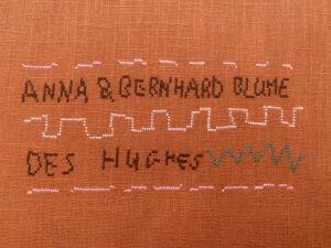 The Wick - Anna & Bernhard Blume, Invitation (Detail), 2021, Courtesy the artist and Buchmann Galerie Berlin Photo: Studio Des Hughes