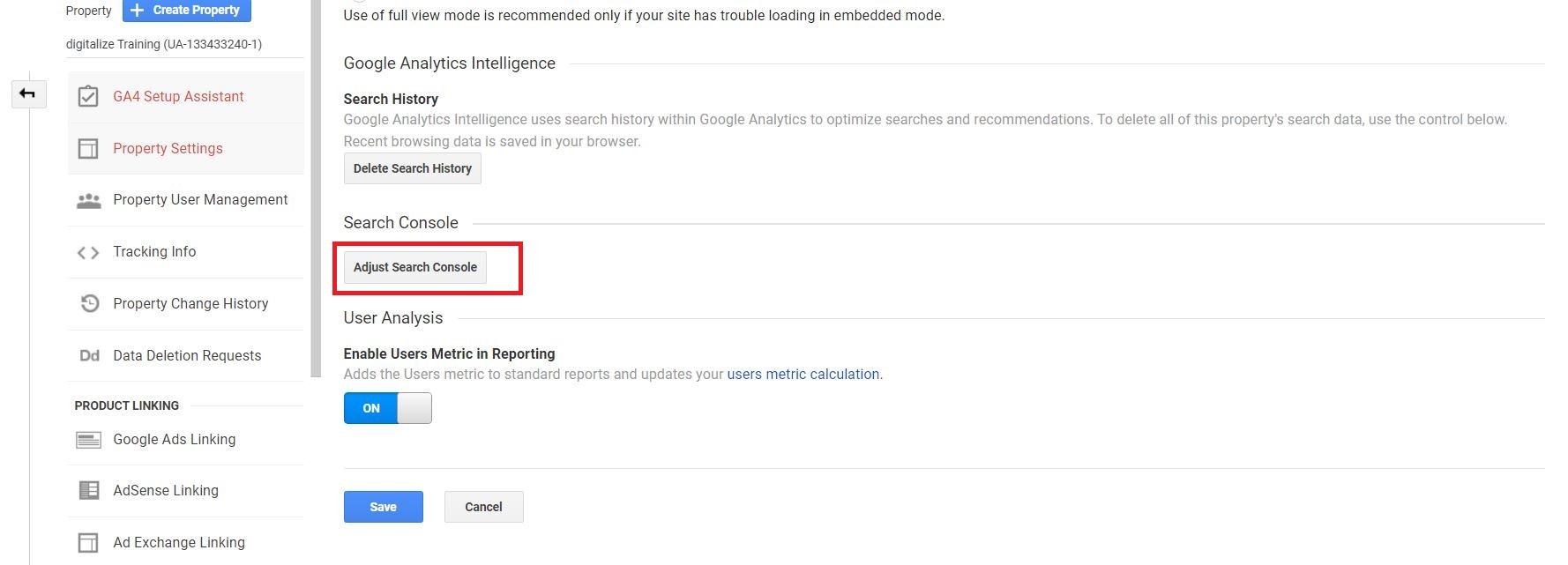 adjust-search-console-google-analytics