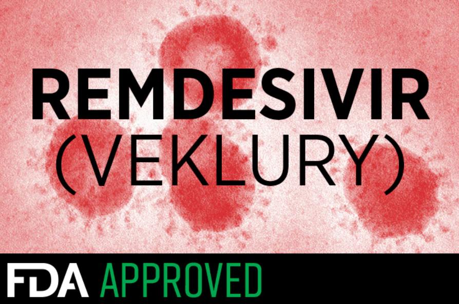 FDA ilk Covid-19 ilacına onay verdi