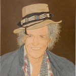 Mr Keith Richards, his library and his portrait