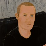 MARK ORMROD AND HIS PORTRAIT