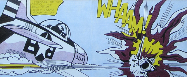 Tactile version of Whaam!
