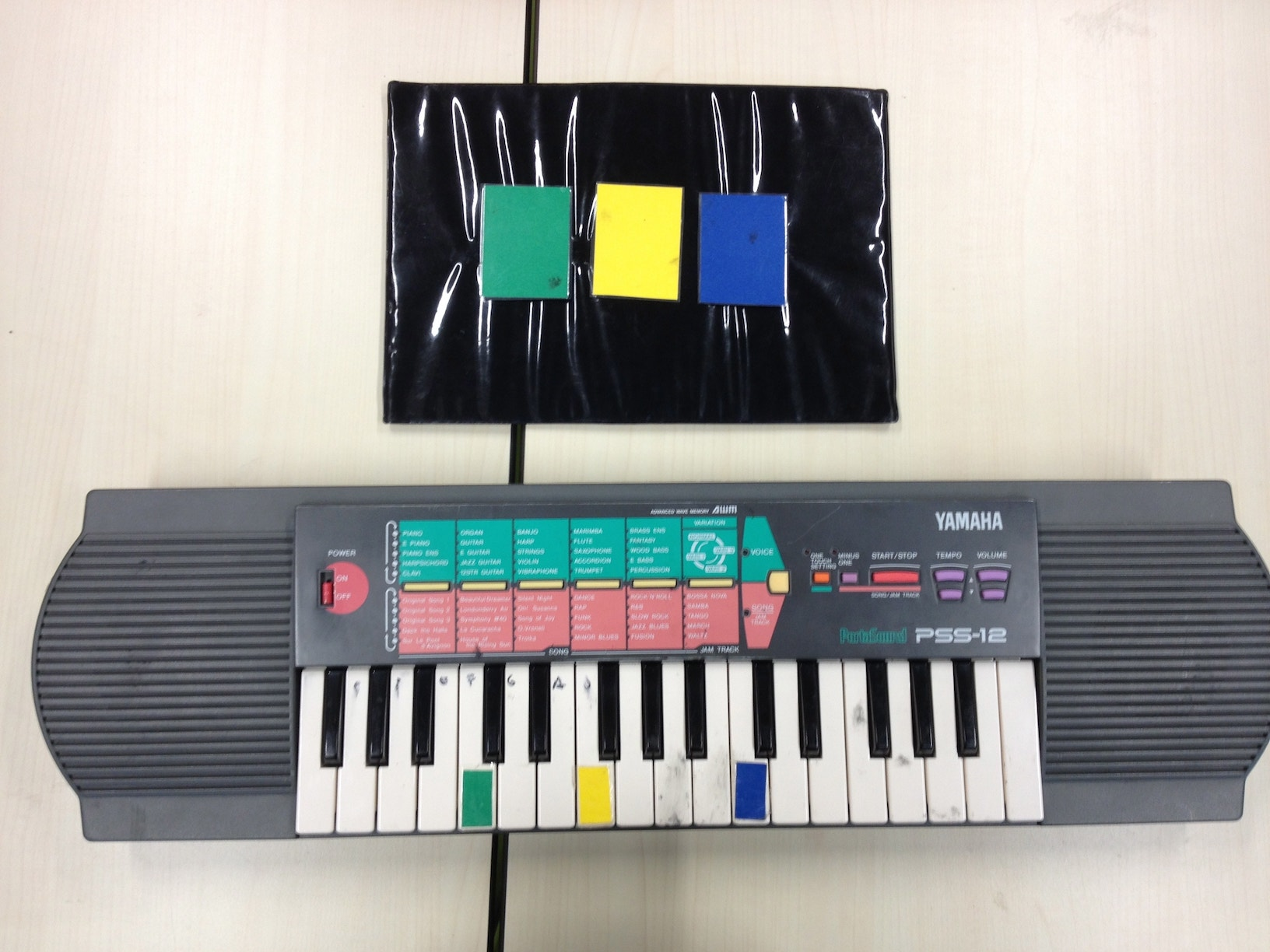 teach keyboard to children with autism