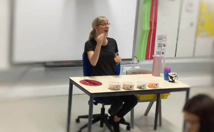 Snack ASD Teacher