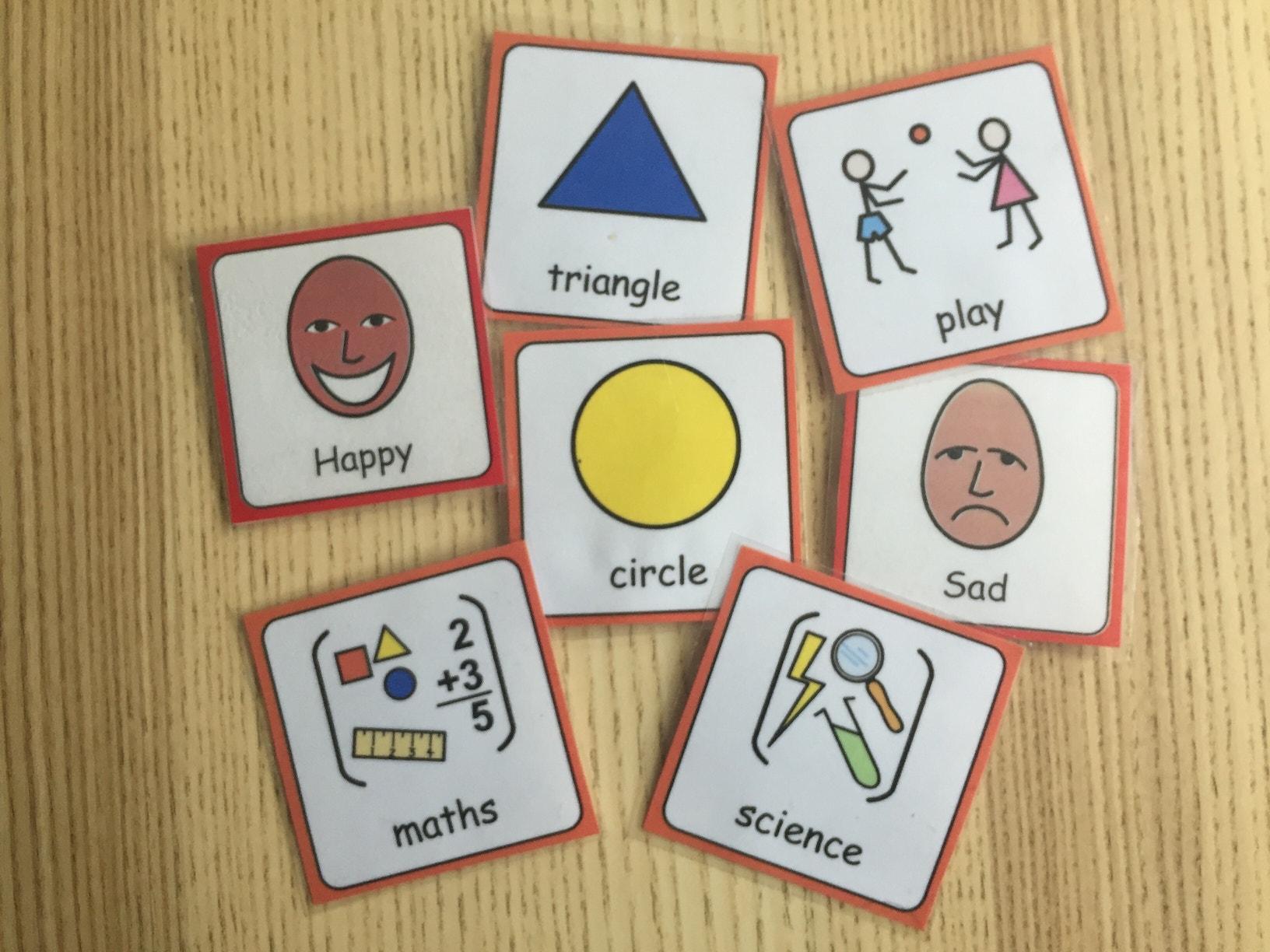 Widgit symbols asd teacher
