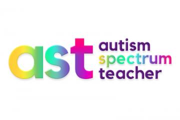 autism spectrum teacher logo square