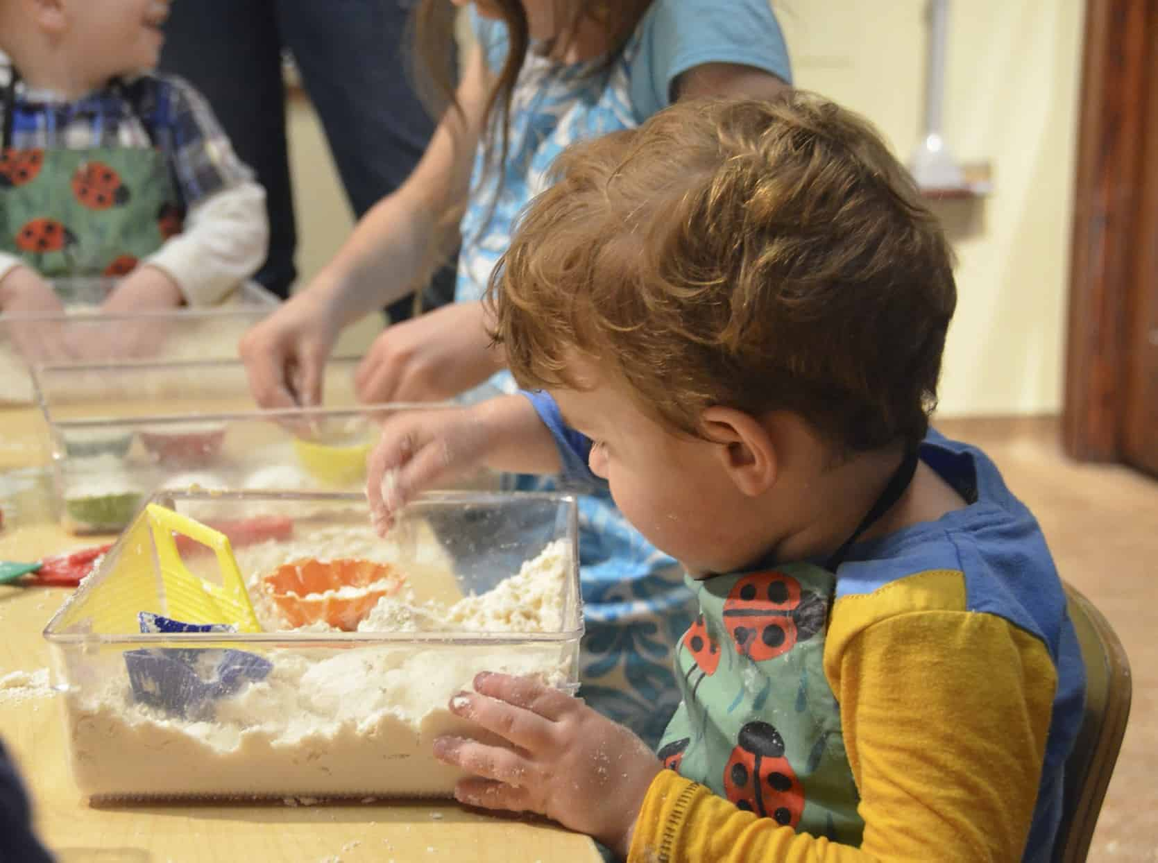messy play calm activity autism special needs