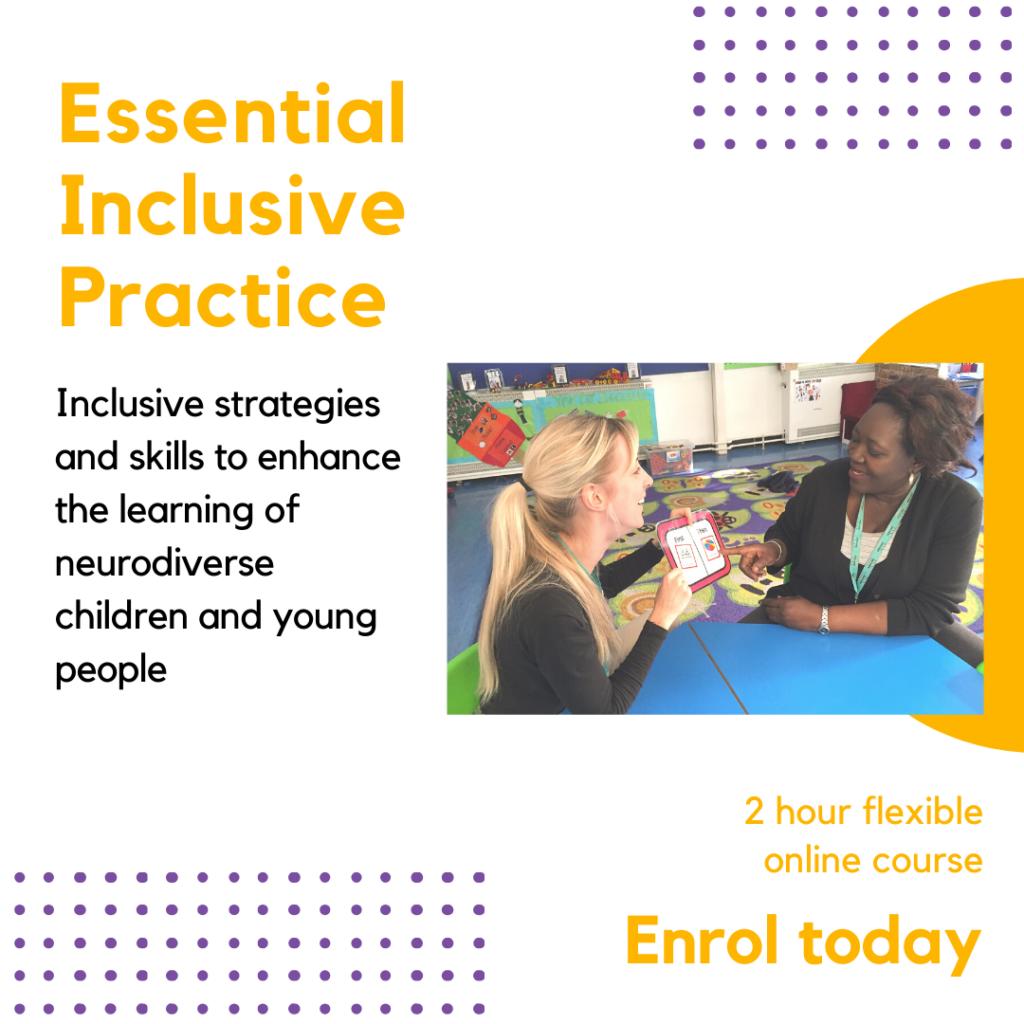 Essential inclusive practice online course autism