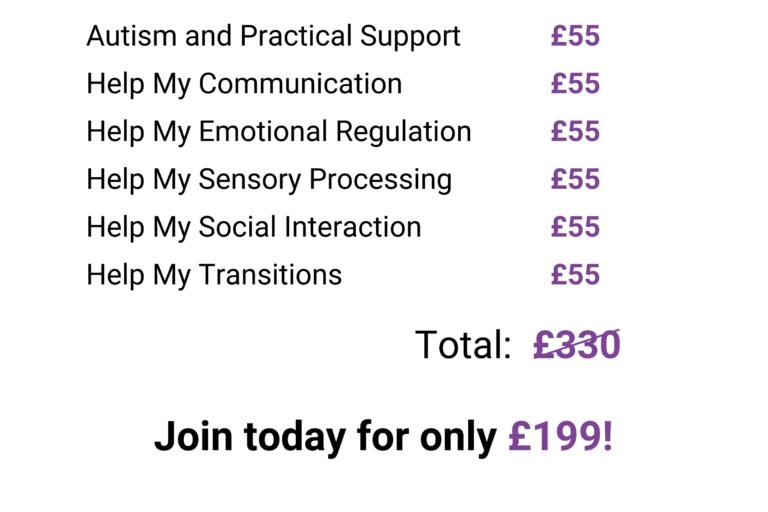 parents autism online course