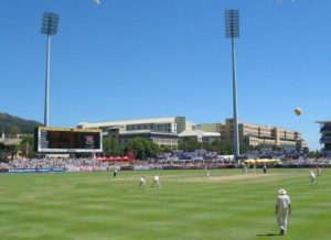 Newlands Cricket Ground in Cape Town, South Africa