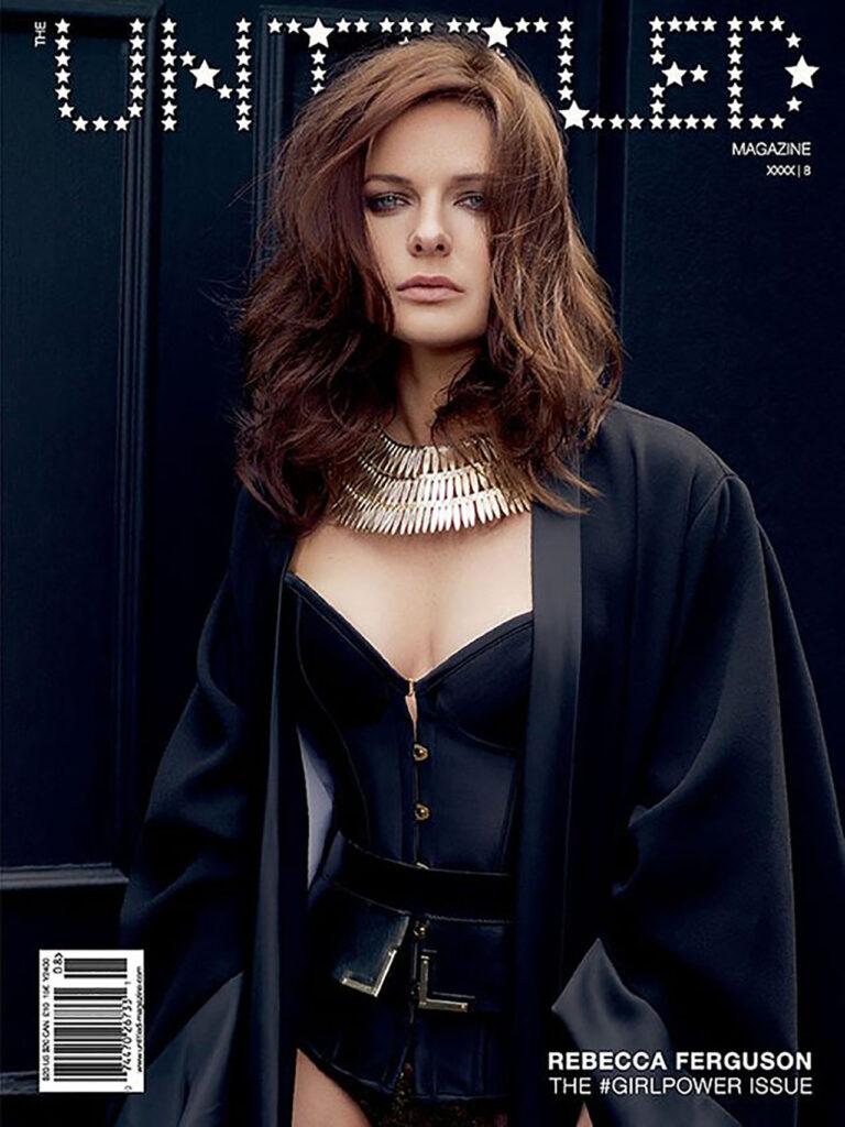 Rebecca Ferguson poses for Untitled Magazine