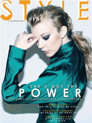 Stlye magazine featuring Natalie Dormer, styled by Deborah LaTouche