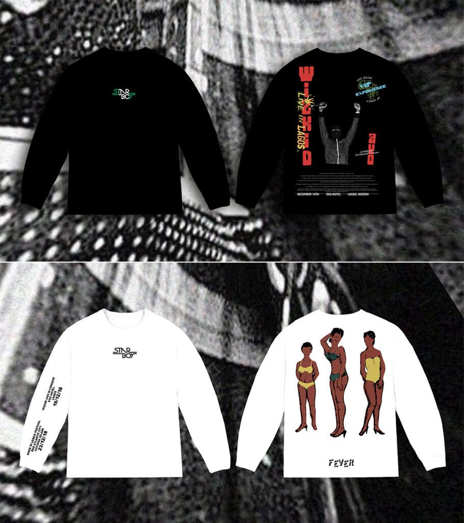 whizkid merchandise design