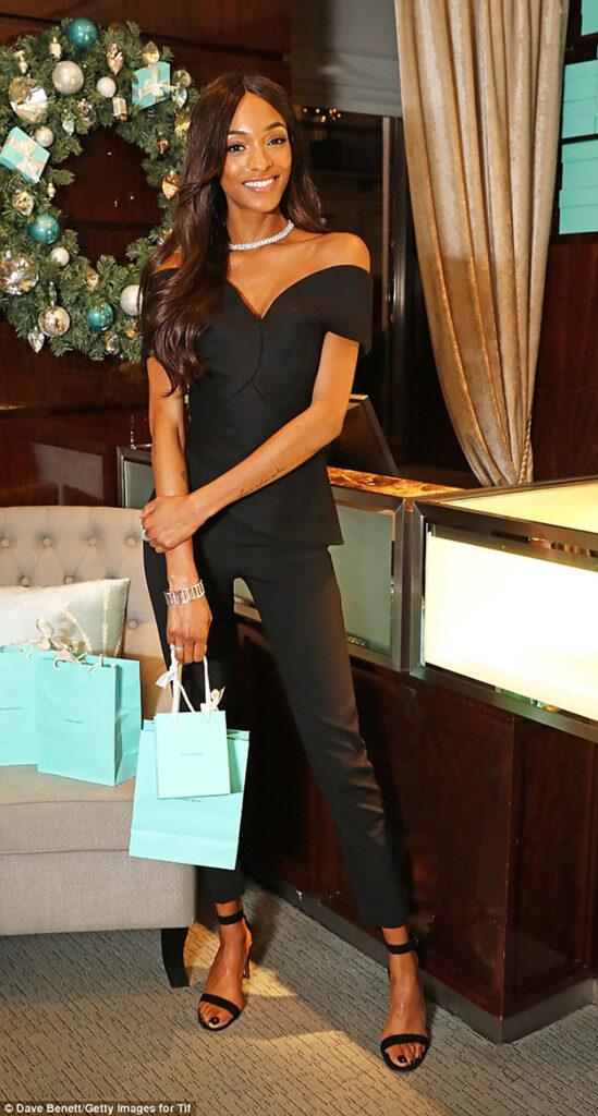 Jourdan Dunn christmas campaign for Tiffany & Co