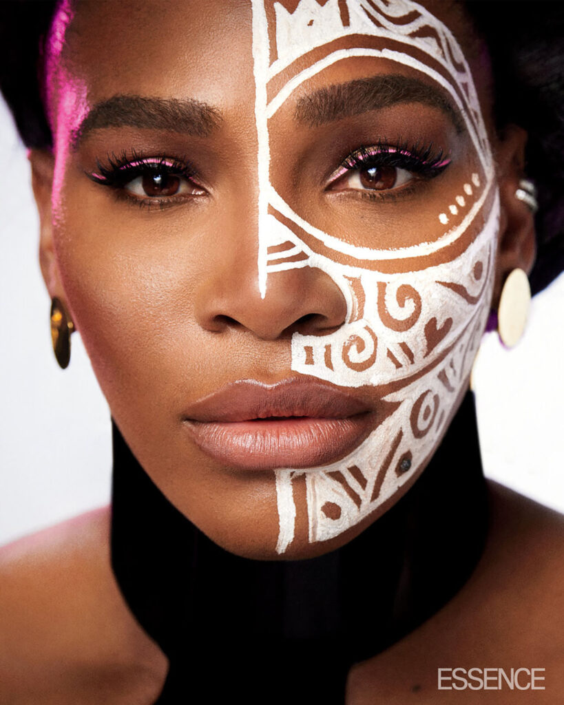 Serena williams features in essence magazine