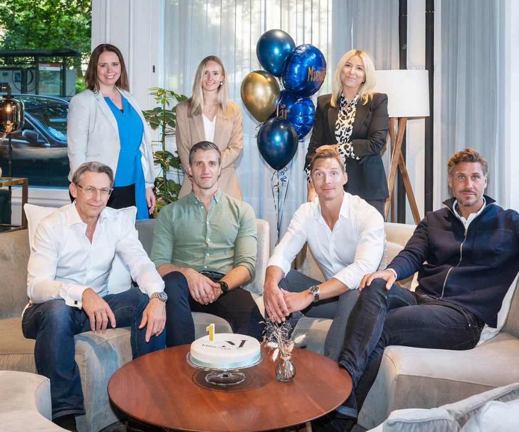 Mirovia Group firar 1 år - teamet