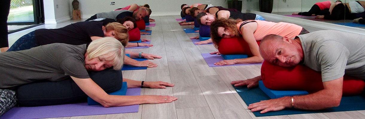 Restorative Yoga 21st November 7.30-8.45pm