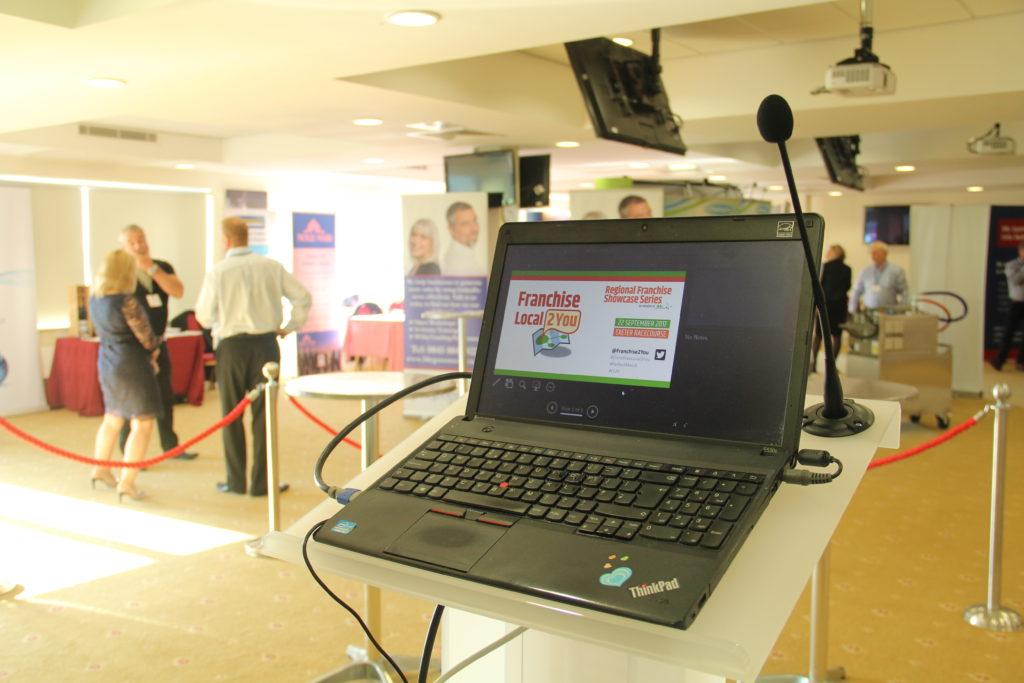 corporate events audiovisuals