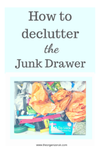 Declutter motivation, how to declutter the junk drawer, junk drawer organizer