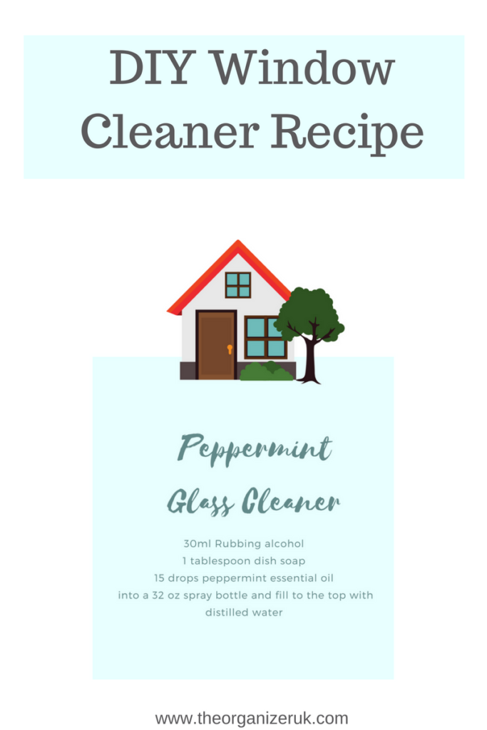streakless window cleaning recipe