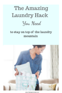 family laundry hack