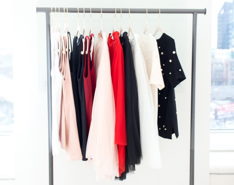 red capsule wardrobe color palette