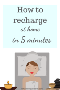 how to recharge in 5 minutes , free self care checklist