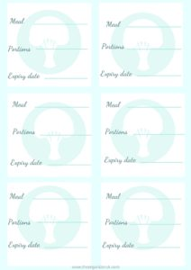 free vegetarian freezer labels , batch cooking for beginners, freezer meals