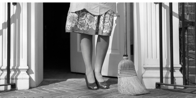 proverbs on cleaning , doorstep cleaning
