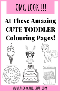 Pin these cute colouring pages
