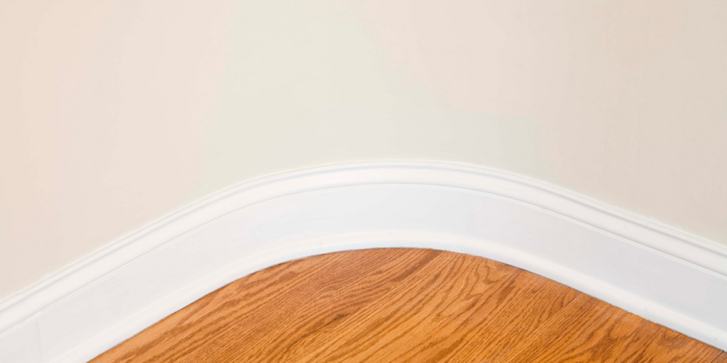 clean skirting boards.