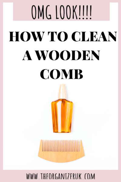 How to clean a wooden comb