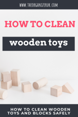 how to clean wooden blocks