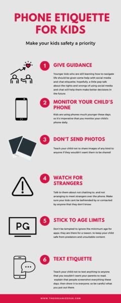 kids phone safety