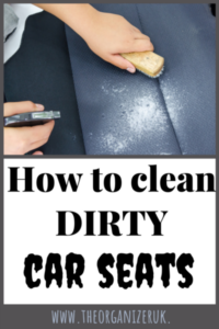 how to get stains out of car seats