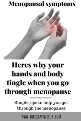 menopause tingling and numbness