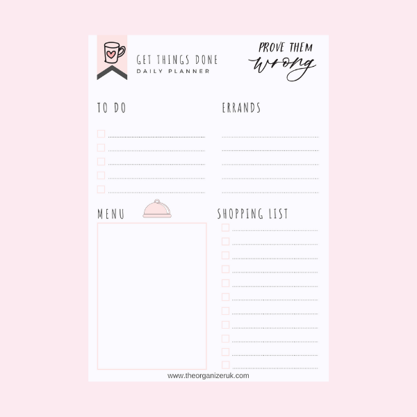 get things done planner