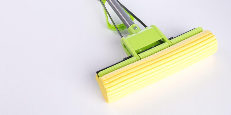 sponge mop tiled floors