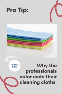 colour code for cleaning cloths