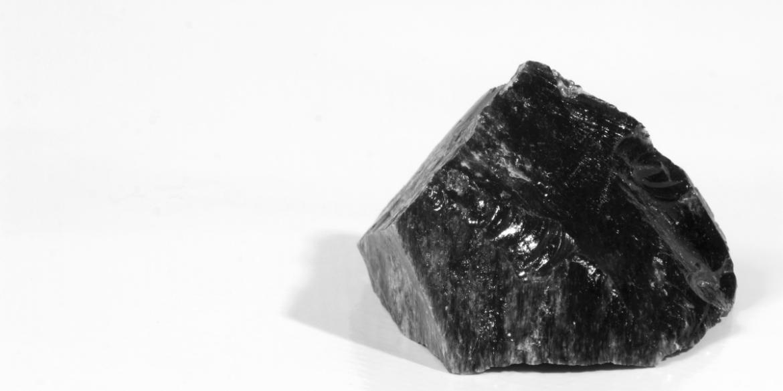 black obsidian protection crystal