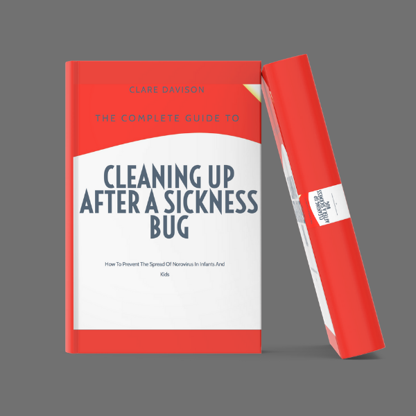 how to clean up after a sickness bug