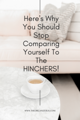 stop comparing yourself to the hinchers